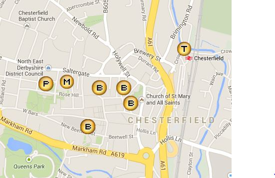 Chesterfield-Map